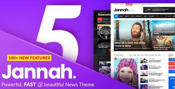 Jannah v5.3.1 汉化破解版– Newspaper Magazine News BuddyPress AMP插图