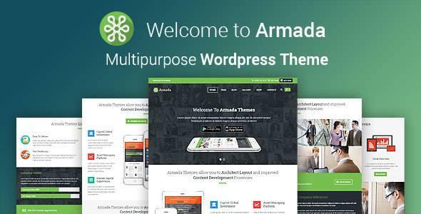 WordPress主题 ARMADA 多用途企业品牌高级汉化主题[更新至v.4.0]