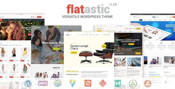 WordPress主题 Flatastic 企业行业品牌多功能响应式汉化主题[更新至v1.5.7]