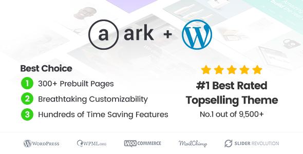 WordPress主题 The Ark 简单强大企业业务模板[更新至v1.18.2]
