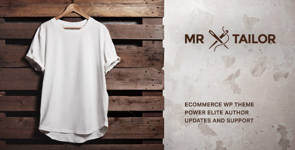 WooCommerce主题 Mr. Tailor 自适应在线销售电子商务商城模板[更新至v2.3]