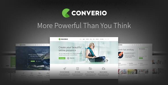WordPress主题 Converio 自适应多用途企业业务电子商务模板[更新至v1.0.26]