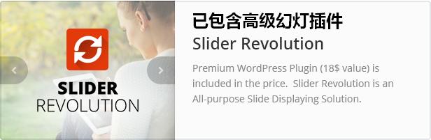 WordPress主题 Converio 强大且漂亮的多功能企业主题